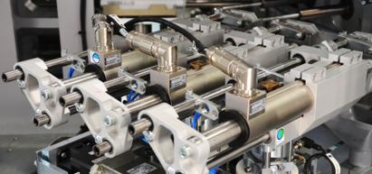 Axes de mise en forme – machine d'emballage
